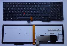 Tastatur Lenovo ThinkPad Edge T550 W541 W550s Keyboard Backlilt 04Y2477 KMBL