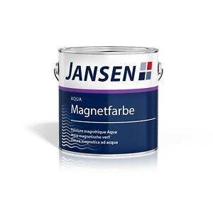 (26,60€/L) Jansen Aqua Magnetfarbe dunkelgrau 750ml