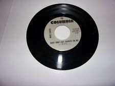 Mac Davis: Baby Don't Get Hooked On Me / Your Side Of The Bed / 45 Rpm / NM