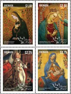 Grenada- Xmas Stamps- 4v MNH