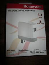 NEW Honeywell UC530 3.1 Amp Dual USB AC Charging Adapter 2 ports