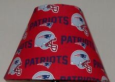 NEW ENGLAND PATRIOTS FABRIC  Lampshade ONLY SPORTS NFL FOOTBALL Handmade