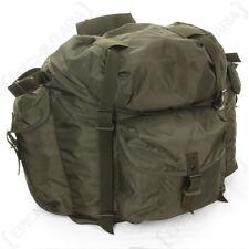 Original Austrian Olive Drab Rucksack - Army Surplus Backpack Bag Military Green