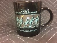 1 Vintage NOS COORS INTERNATIONAL BICYCLE CLASSIC MUG