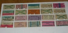 More details for 1960's talyllyn railway tickets x20