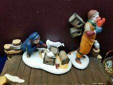 """Department 56 New England """"Lobster Trappers"""" #56589  Retired"""