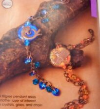 Bead Style Autumn Metals Origami Necklace Southwestern Style 33 Projects