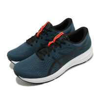 Asics Patriot 12 Magnetic Blue Black White Men Running Shoe Sneaker 1011A823-401