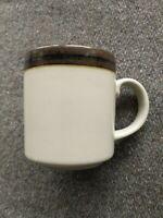 Arabia Of Finland KARELIA Mug Coffee Tea Mid Century Modern Vintage Stone Brown