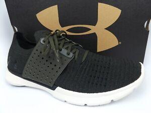 Under Armour UA Speedform Slingwrap Running Shoes Men's Size 9.5 M. Olive, 17195