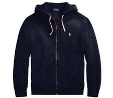 Polo Ralph Lauren Big&Tall Full Zip Fleece Hoodie Core Color Navy 2XB NWT ($125)