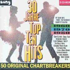 30 Jahre Top Ten Hits (60s-80s) Beach Boys, Hot Butter, Ryan Paris, C.C.. [3 CD]
