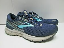 Brooks Adrenaline GTS 19, Size US 10 Medium (D), Men's Running Shoes Indigo Gold