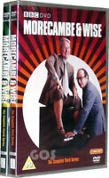 MORECAMBE & WISE COMPLETE SERIES 3 (THREE) & 4 (FOUR) - 4 DVD SET - COMEDY