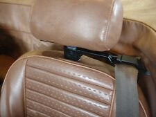 Triumph SEAT BELT GUIDES: TR6, TR7, Spitfire. HUGE gain in comfort! 1970-1980