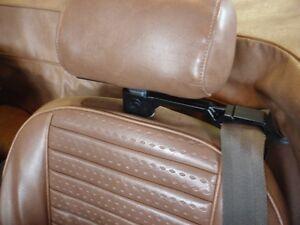Triumph SEAT BELT GUIDES: TR6, TR7, TR8, Spitfire. HUGE gain in comfort! 1970+
