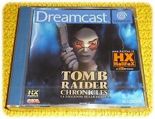 Tomb Raider Chronicles videogioco Core Dreamcast ::: nuovo :::