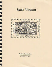 Saint Vincent, the Stanley Gibbons Philatelic Handbook, by Francis Napier, New