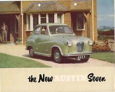Austin A30 4-dr Saloon 1952-53 UK Market Launch Foldout Sales Brochure