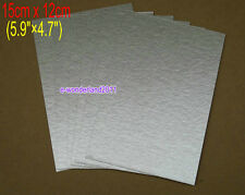 6Pcs 15cm x 12cm Microwave Oven Mica Plates Sheet Replacement For Panasonic/LG