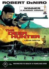 THE DEER HUNTER DVD=ROBERT DeNIRO=REGION 4 AUSTRALIAN RELEASE=NEW AND SEALED