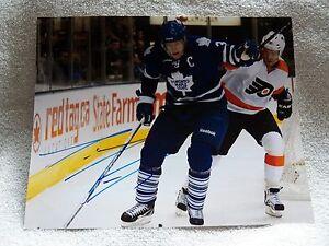 Toronto Maple Leafs Dion Phaneuf Signed 8x10 Photo Auto