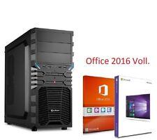 Office PC Bürocomputer Rechner Büro Intel  16GB USB HMDI 2000GB HDD Window 10 7
