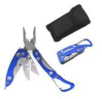 Mini Multitool Clip Tool Taschenmesser Schlüsselanhänger Karabiner Messer Zange