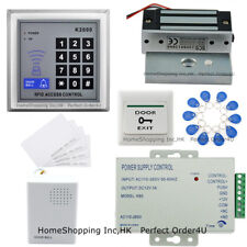 125KHz RFID Card+Password Door Access Control System +120Lbs Magnetic Lock+Cards