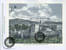 Spain 2017 FDC Granada World Heritage Urban Centres 2v M/S Cover Tourism Stamps