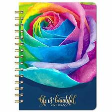 2021 2022 Weekly Monthly Planner With Rose Hard Cover July 2021 June 2022