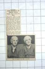 1959 Mrs K Carter And Mrs E Davies, Troon Twins