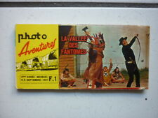 PHOTO AVENTURES /  NUMEROS  9 / LA VALLEE DES FANTOMES / SEPTEMBRE 1967