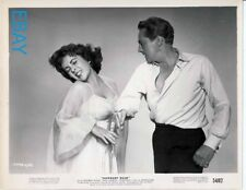 Peter Finch slaps Elizabeth Taylor Vintage Photo