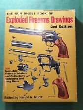 BOOK EXPLODED FIREARMS DRAWINGS HAROLD A. MURTZ, 2° EDITION DEL 1974