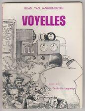 Voyelles  Jehan van Langhenhoven