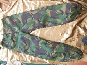 "BRITISH ARMY DPM Goretex MVP Waterproof Breathable Trousers 85/88/104 34"" Waist"