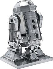 STAR WARS R2-D2 miniatura modelli in metallo Costruzione KIT REGALO LASER CUT PUZZLE 3D