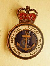More details for royal national life-boat institution bronze award badge rnli c2001