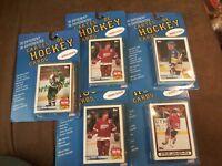 5x Lot Hockey Cards (30 Different Each) Blind Packs NORRIS DIVISION vintage NIP