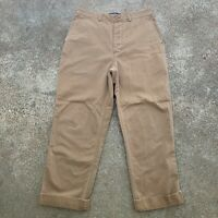 POLO RALPH LAUREN - EUC Classic 67 Chino Khaki Pants, Mens 34 Waist x 32 Length