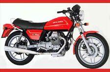 116 CATALOGO RICAMBI ORIGINALI MOTO GUZZI V 50 III 500 1980-1984 - FILE PDF