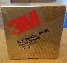 """3M floppy disks 1.44 MB 3.5"""" Floppy Diskettes for IBM Apple sealed 10 pack"""