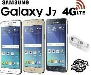 Samsung Galaxy J7 2015 16GB 4G Unlocked Dual Sim (Black White Gold)  J700