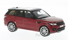 Whitebox WB130 - Range Rover Sport 2014 Red/Black 1/43rd Scale In Case T48 Post
