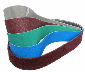 10 x Schleifbänder für Metabo BS 175 / BS 200 | Marke, Bandtyp, Körnung wählbar