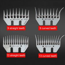 9/13 Tooth Sheep Blade Goats For Sheep Scissors Comb Cutter Comb Scissor Parts