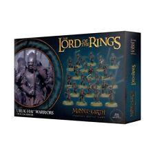 Lord of the Rings miniatures: Uruk-hai Warriors