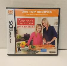America's Test Kitchen: Let's Get Cooking (Nintendo DS, 2010) - Brand NEW