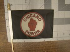New Listingchicano Power Car Truck 4 X 6 Inch Flag For Parade License Plate Topper Chicano Fits 1964 Oldsmobile